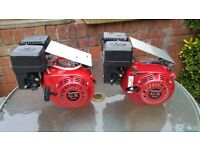 2x Honda GX200 Go Kart, Pro Kart , Generator, Pressure washer Engines