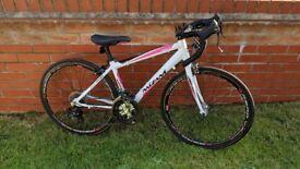 Boys road / racing bike - Mizani Aero100 (24 inch wheels) with upgrades