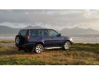 NISSAN TERRANO SPORT DIESEL 2003 Reg 85k miles drives well 7 seater