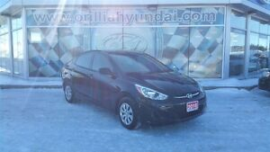2016 Hyundai Accent L-ALL IN PRICING-$81 BIWKLY+HST/LICENSING