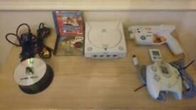 Sega dreamcast bundle with 52 games.