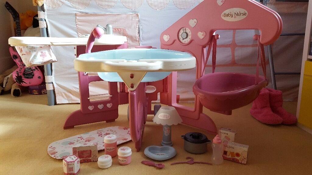 Smoby Baby Nurse Nursery Centre Used In Menstrie