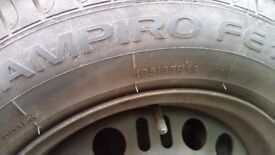 tyres 4X 195/65/R15 OPEL ASTRA H