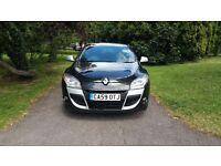 2010 renault megane coupe 1.6 i music (new model) black*£3795 *focus 308 golf c4 astra vw size cars*