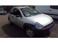 2004 Ford Ka collection 1.3 silver. Long MOT and very good runner
