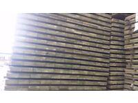 19mm x 100mm x 1800mm Green Treated Fence Slats.