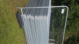 heras fencing 20 X sheets left must go