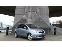 2007 07 TOYOTA YARIS SPIRIT 1.3 SEMI AUTO 34K MOT 11/16(PART EX WELCOME)***FINANCE AVAILABLE*