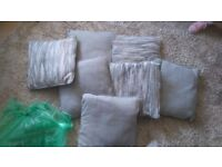 7 pillows for seetie