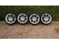 "Audi A5/S5 20"" alloy wheels x4"