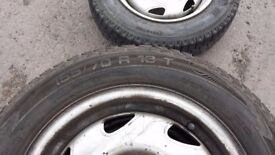 4 Tyres 155 / 70 R 13
