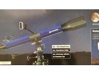 BRESSER SKYlux TELESCOPE 70/700 Smartphone holder