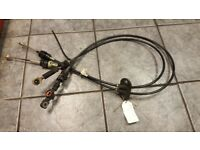2004 FORD FIESTA FUSION 1.4 TDCI GEAR LEVER CABLES FOR 5 SPEEDS GEARBOX
