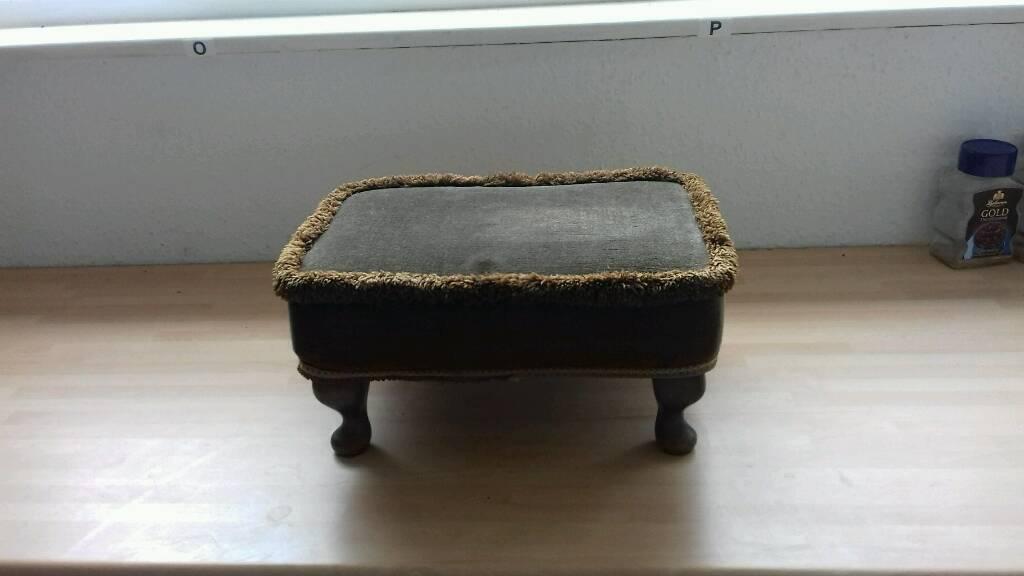 Genuine Sherborne footstool