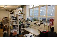 Artist studio space to share