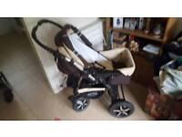 Baby merc s7 pram