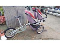 Mother and baby bike