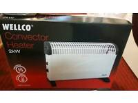 Wellco brand new convector heatre 2years Warranty 2kw