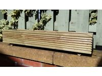 garden plant boxes,wooden window box planters, flower planters, many sizes/colours, handmade.