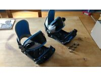 BURTON PROGRESSION SNOWBOARD BINDINGS - SMALL