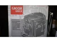 Gaggia Ubica bean to coffee espresso machine: NEW