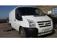 **FOR BREAKING** 2009 FORD TRANSITS (CHOICE OF DIESEL ENGINES).