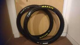 New Maxxis Ardent tyres
