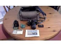 Chino CP-7m 35 mm SLR camera