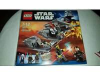 LEGO STAR WARS, 7957, SITH NIGHT SPEEDER, COMPLETE WITH BOX
