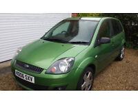Ford Fiesta Zetec Climate - Green petrol 1400cc