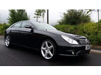 APRIL 2007 MERCEDES CLS 320 CDI AUTOMATIC 7G-Tronic STUNNING LOOKS & PERFORMANCE AMG Styling MOT MAY