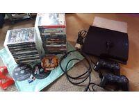 PS3 320gb console Bundle