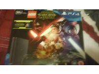 PS4 for sale 3weeks old 500 GB one controller fifa 15 Star wars lego F1 2015 get a bargin