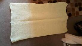 Handmade unisex baby or child blanket