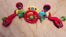 ELC Lights and Sounds Buggy Driver / Pram or Pushchair Steering Wheel