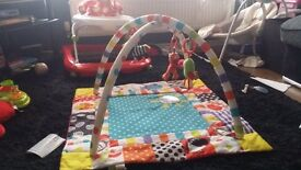 Red kite baby zoo play gym