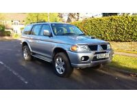 Mitsubishi SHOGUN SPORT WARRIOR 2.5 Turbo Diesel 2005 55 Reg £1995