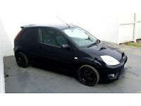 2005 │ Ford Fiesta ST │ 2.0 Petrol │ Black │ Upgraded Alloys │ Leather │ 1 Year MOT
