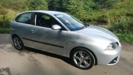 2007 Seat Ibiza 1.4 16v Special Edition 3dr DAB only 70k mmiles