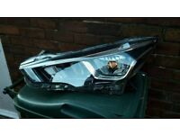 GENUINE 2017-2018 NISSAN MICRA K14 NEARSIDE PASSENGER SIDE HEADLIGHT WITH LED DRL 26060-5FF0A