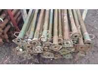 SIZE 3 ACROW PROPS 600kg loading capacity GALVANISED ACRO PROP LONDON ( spare or repair)