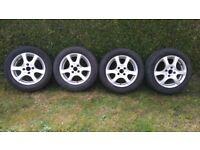 Ford Alloy Wheels, 15 inch