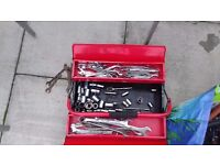 Large Amount of tools & Car Jacks & Other Items Garage Or Home Job Lot