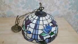 Tiffany style centre light