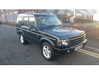 2004 Land Rover Discovery 2 2.5 TD5 Landmark Station Wagon 5dr SUV (7 Seats) £4,495