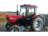 1991 case international 785 xl good we tractor £5800