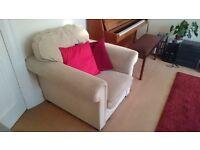 Large Armchair - Light Beige