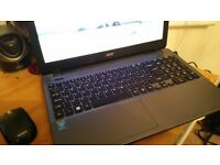 Acer Aspire E15 Intel Quad core 2.1Ghz , 4GB DDR3 ram , 1TB hdd