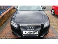 AUDI A3 1.9 TDI Very Good Condition Black Car One Owner 2009 Birmingham For Sale Looks New