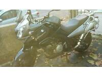 Vstrom 1000 gtv7 -58'plate -black -full luggage pack